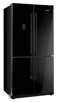 Fridge-Freezer , Freestanding, American Style, Four Door with with MultiZone Compartment,Total Capacity 610 Litres, Smeg