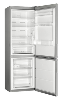 Fridge Freezer, Freestanding, Total Capacity 341 litres, Smeg