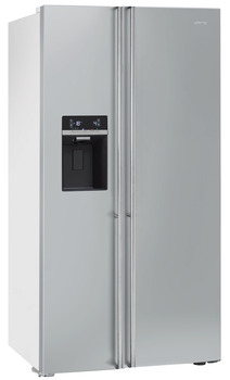 Fridge Freezer, Total Capacity 616 Litres, Side by Side, Smeg Classic American Style
