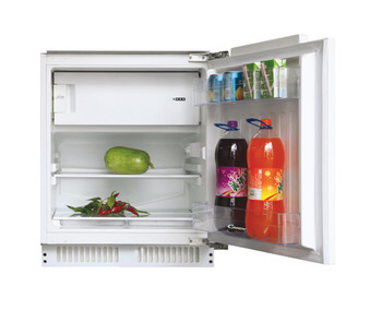 Fridge With Ice Box, Integrated Under Counter, Candy
