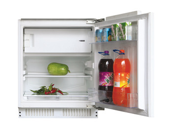 Fridge With Ice Box, Integrated Under Counter, Hoover