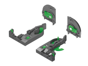 Front and Rear Clip and Adaptor Set, 4D Adjustment Set, Dynapro