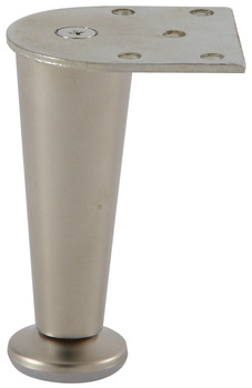 Furniture Foot, Height 100 mm, Zinc Alloy