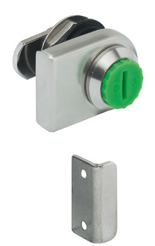 Glass Door Lever Lock Case, for Glass Thickness 4-10 mm, Symo 3000