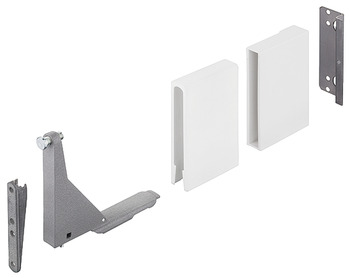 Glass Panel Holder Set, for Glass Side Panels for MX Drawer Systems