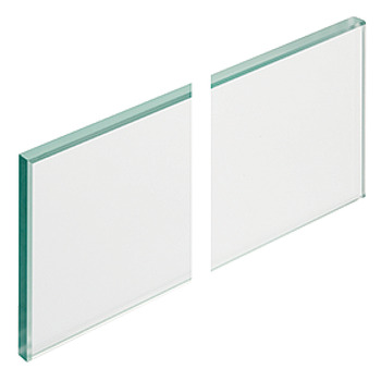 Glass Side Panels, for Matrix Box P Drawer Systems