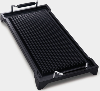 Griddle, Cast Iron, Smeg
