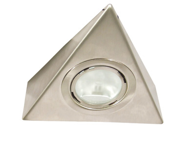 Halogen Downlight 12 V, Rated IP20, 2 x Triangular Light Packed Set, 10-20 W