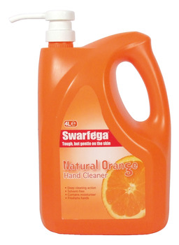 Hand Cleaner, Natural Orange, Size 450 ml - 4 Litre, Swarfega