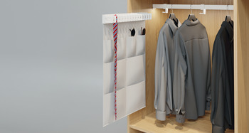 Hanging Pocket Organizer, for Multi-Functional Pull Out, Häfele Dresscode