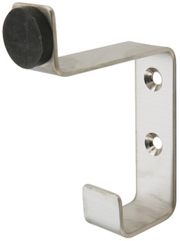 Hat and Coat Hook, Buffered, Grade 316 Stainless Steel, 64 x 85 mm