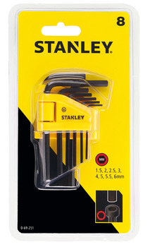 Hex Key Set, Metric, Stanley®