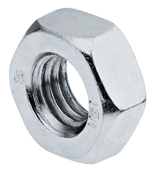 Hexagon Nut, Galvanized Steel