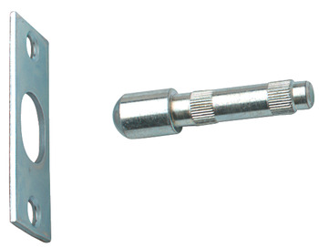 Hinge Bolt, for External Outward Opening Doors, Height 60 mm, Coated Steel