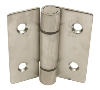 Hinge, Height 90 mm x Open Width 82 mm, 316 L Cubicle Fittings, PBA
