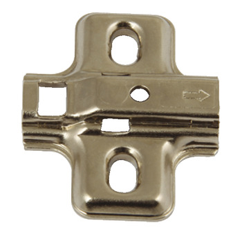 Hinge Set, 110° Soft-Close, Hospa Screw Fixing Mounting Plates, Häfele