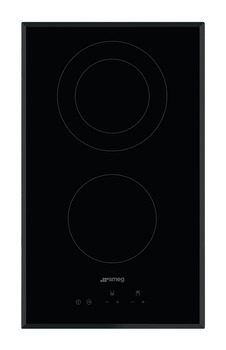 Hob, Ceramic, Touch Control with Angled Edge Glass, 300 mm, Smeg