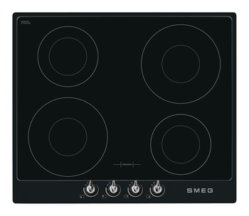 Hob, Electric Induction 600 mm, Smeg Victoria