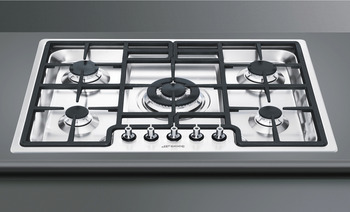 Hob, Gas, 720 mm, Ultra Low Profile, Smeg Classic