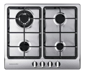 Hob, Gas, Four Burners, 600 mm, Rangemaster