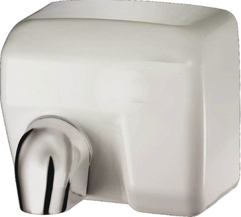 Hot Air Hand Dryer, Automatic Operation, Vandal Resistant