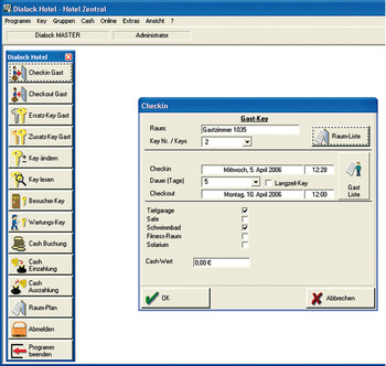 Hotel/Personnel Software, Lite Version, Dialock