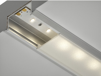 Housing Profile, for use with 12 V Flexyled Flexible Strip Light, Skyline