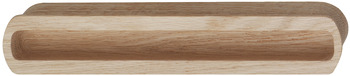 Inset Handle, Wood, Length 210 mm, Halkin
