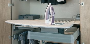 Ironing Board, Built in, Lateral, Ironfix