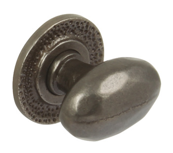 Knob, Cast Iron, 34.5 x 37 mm, Syon