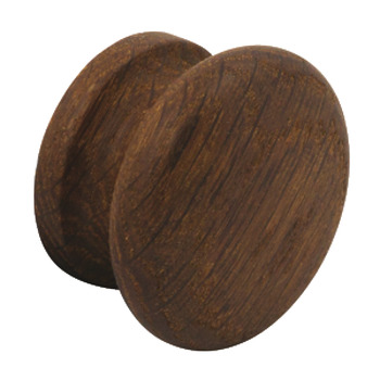 Knob, Oak, Smoked Finish, Shaker