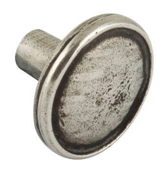 Knob, Pewter, Ø 36 mm, Lamont