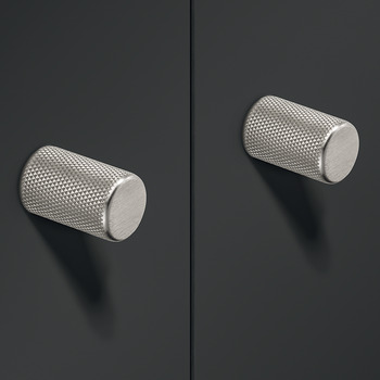 Knob, Zinc Alloy, Ø 17 mm, Graf