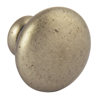 Knob, Zinc Alloy, Ø 35 mm, Sorrento