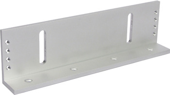 L Bracket, for Standard Electromagnetic Locks, for Doors Without Overhead Reveal