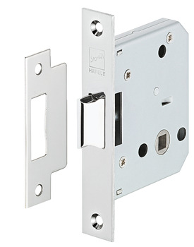 Latch, Mortice, Operated by Lever Handles, Stainless Steel, Startec