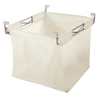 Laundry Basket, with Wire Frame, Basket Width 460 mm, for Elite Soft Close Range, Vibo