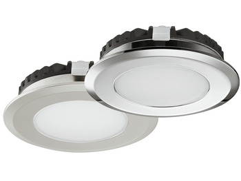 LED Bathroom Downlight 12 V, Ø 65 mm, Rated IP65, Loox5 LED 2039