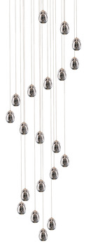LED Ceiling Pendant, Adjustable, Rated IP20, 20 Light, Terrene