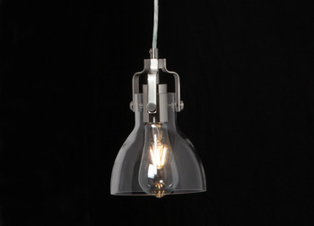 LED Ceiling Pendant, Dome, Rated IP20, Ø 150 mm, 1 Light, Charles