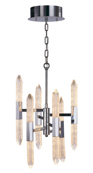 LED Ceiling Pendant, Vertical, Rated IP20, 6 Arm, 12 Light, Shard