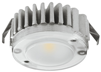 LED Downlight 12 V, Ø 40 mm, Rated IP20, 1 Light Set, Loox LED 2040