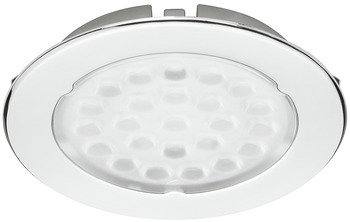 LED Downlight 12 V, Ø 68 mm, Rated IP20, Loox Compatible LED Metris