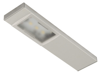 LED Downlight 12 V, Rated IP20, 8 mm High, 150 mm Deep, Loox Compatible LED Slimline Bar Downlight