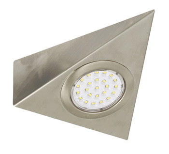 LED Downlight 12 V, Rated IP20, Wedge Light Set with Driver, Individually Boxed