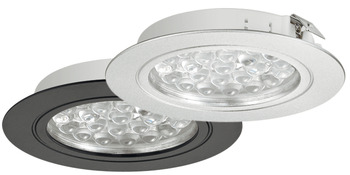 LED Downlight 24 V, Ø 65 mm, Rated IP20, Loox LED 3001
