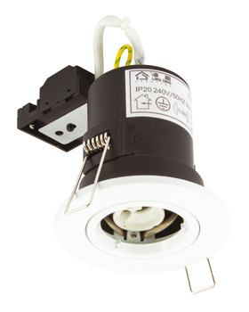 LED Downlight 240 V, Ø 93 mm, Fire Rated, Rated IP20