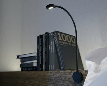LED Flexible Reading Light 12 V, Ø 36 mm, for Surface Mounting, Loox LED 2034