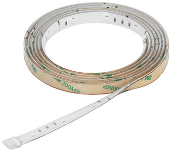 LED Flexible Strip Light 12 V, Rated IP20, Loox LED 2012 Set, with 2000 mm Strip, Mixer, Remote Control, Driver, Mains Lead and Connecting Leads