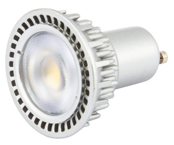 LED Lamp, GU10, 5 W, Dimmable, SMD